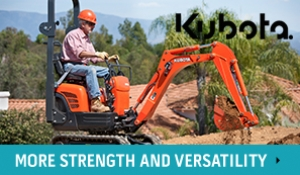 Kubota machinery