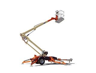 35 ft Towable Boom Lift