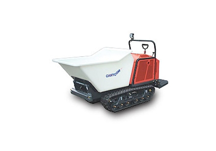Tracked Concrete Buggy
