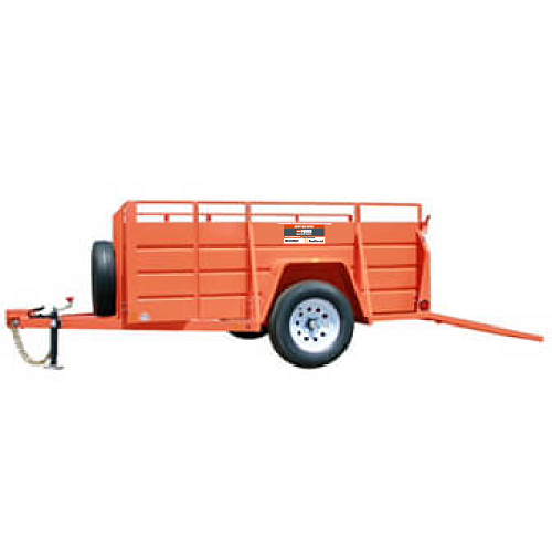 5 X 8 Open Utility Trailer Product