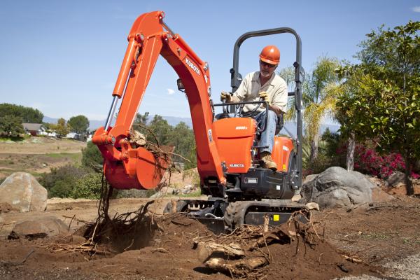 Kubota Mini Excavator Png