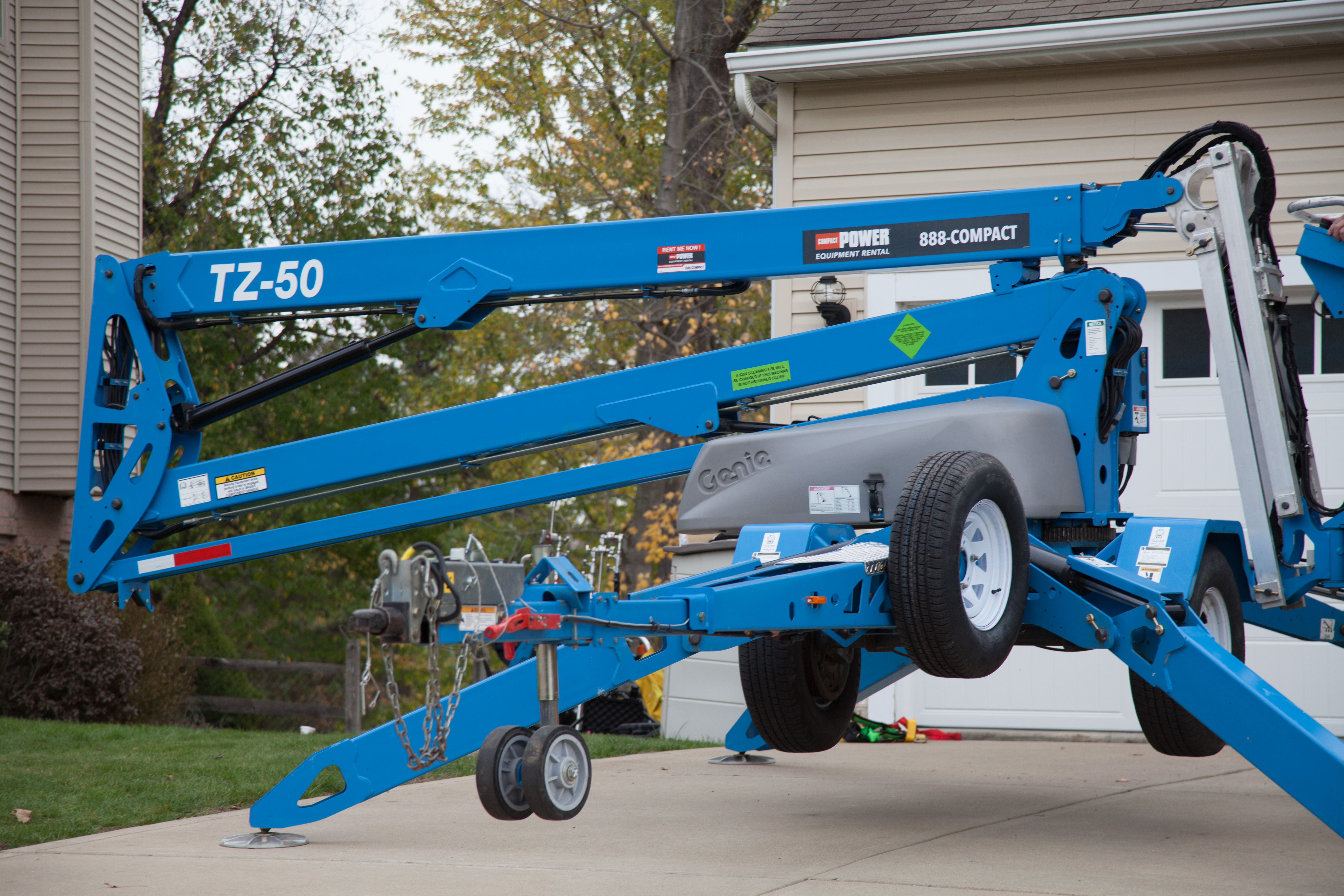 Get Familiar with Genie Aerial Equipment