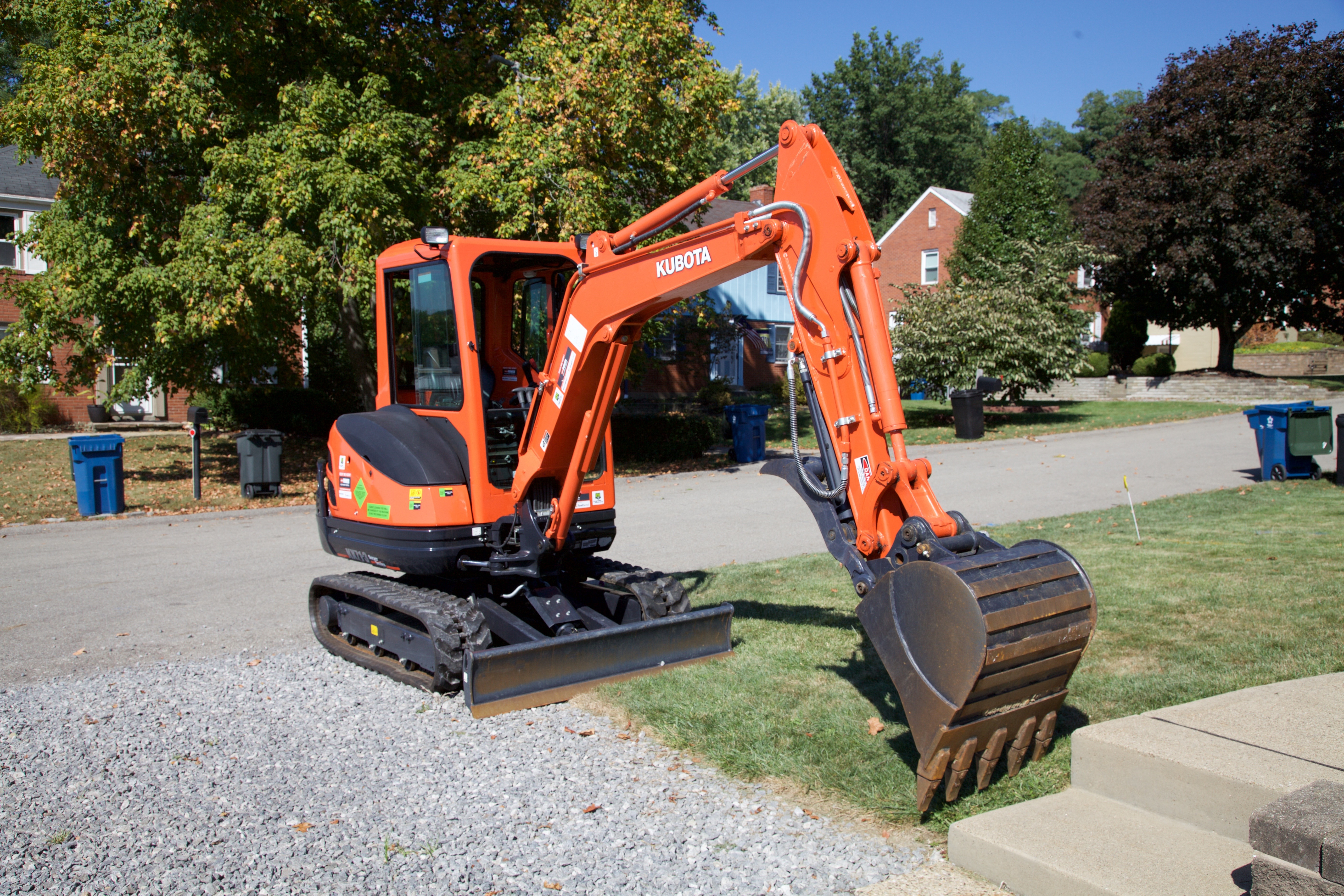 With the Right Preparation, Kubota Mini Excavators are Just More Convenient