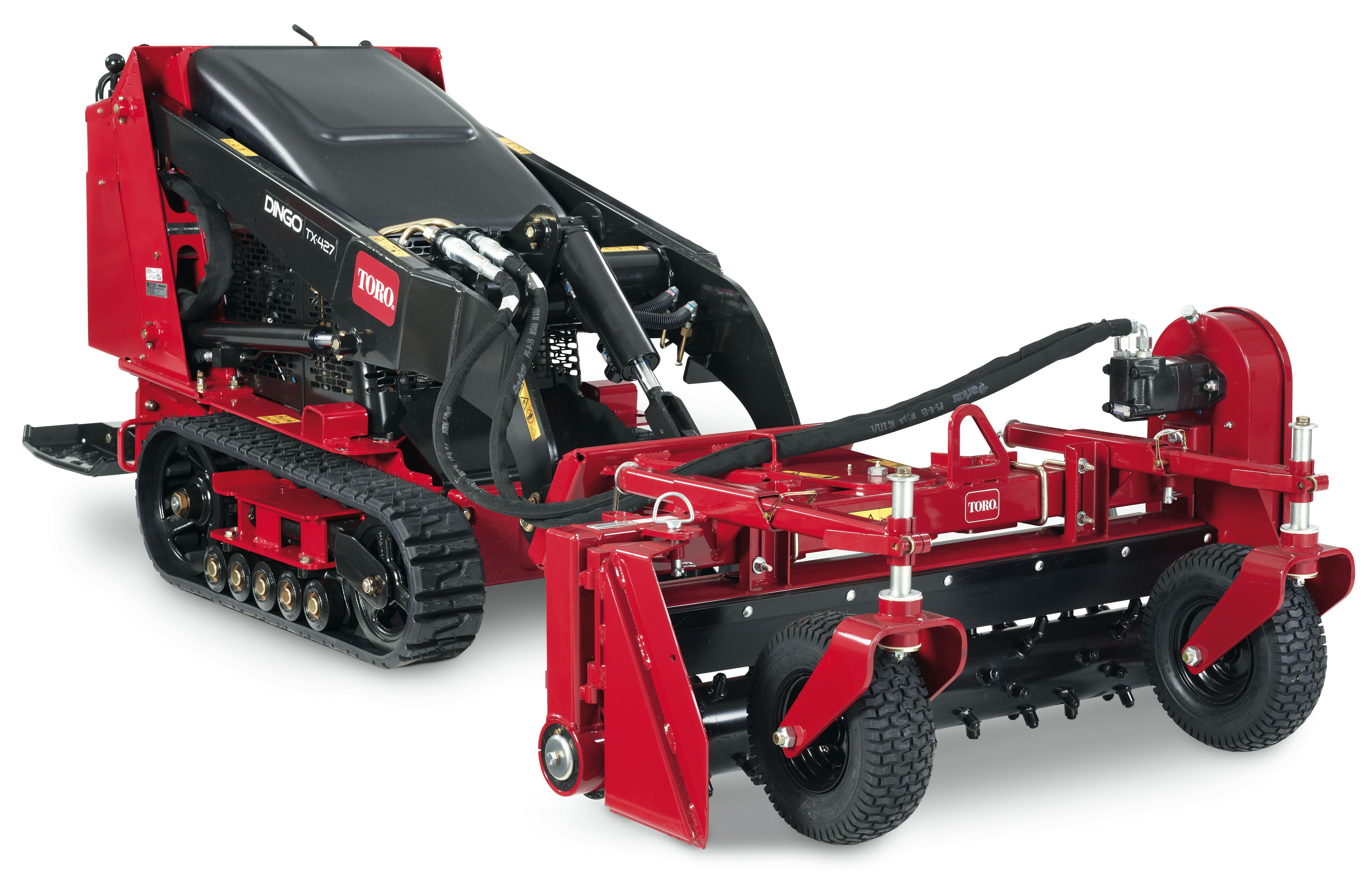 harley rake attachment mini skid steer compact power equipment