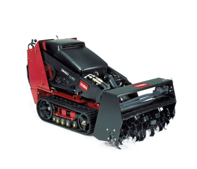 Rototiller Attachment Mini Skid Steer The Home Depot