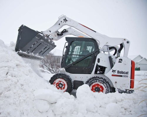 How to Prep Skid Steer Loaders for Winter Work