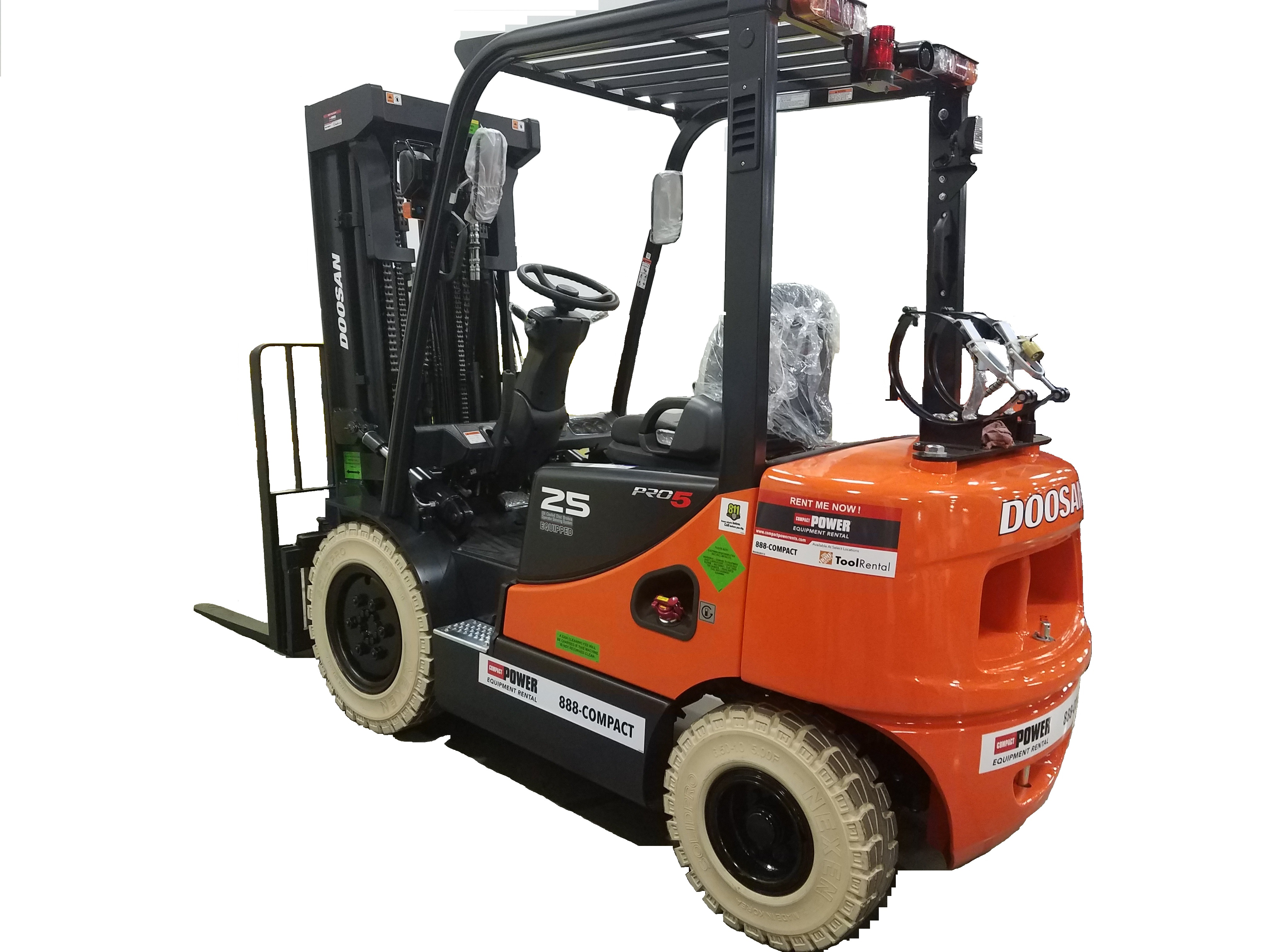 5K Industrial Forklift - LP Quad Mast Product