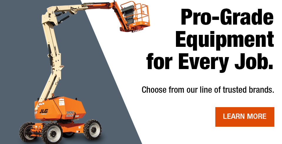 Pro-grade equipment for every job