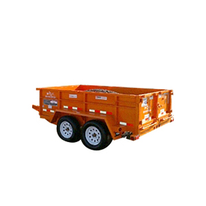 6x10 Dump Trailer Dump Trailer The Home Depot Rental English