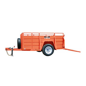Utility Dump Trailer Rentals Rent Trailers The Home Depot Rental English Content