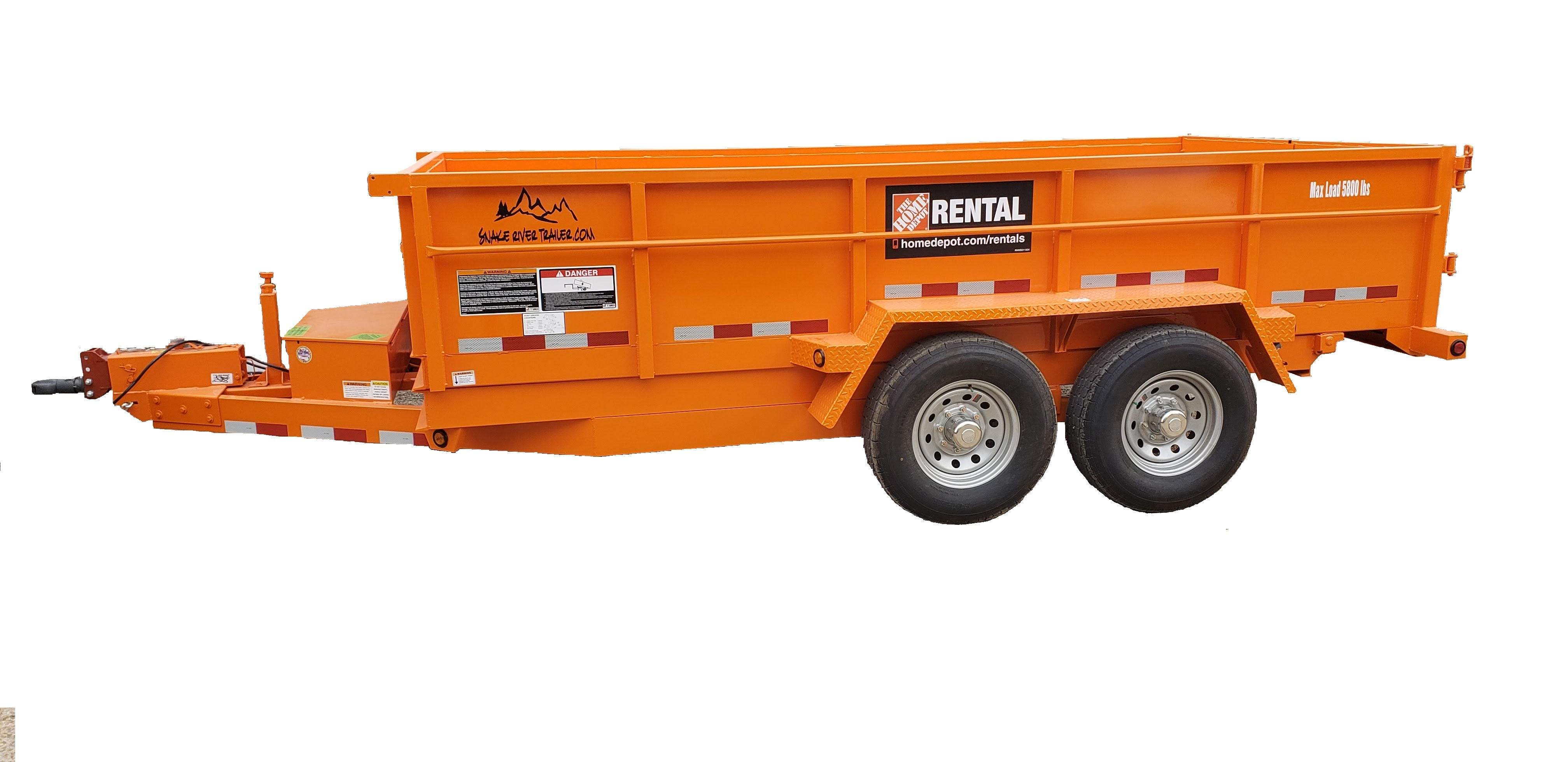Dump Trailer Rental The Home Depot Rental English Content
