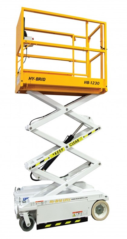 12 ft Scissor Lift on Trailer Product