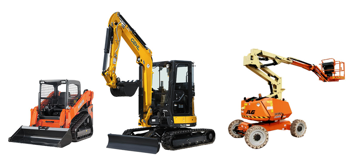 Pro-grade construction equipment rentals from The Home Depot.