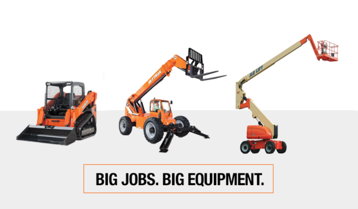 New Pro Grade Equipment Rental. Available Now.