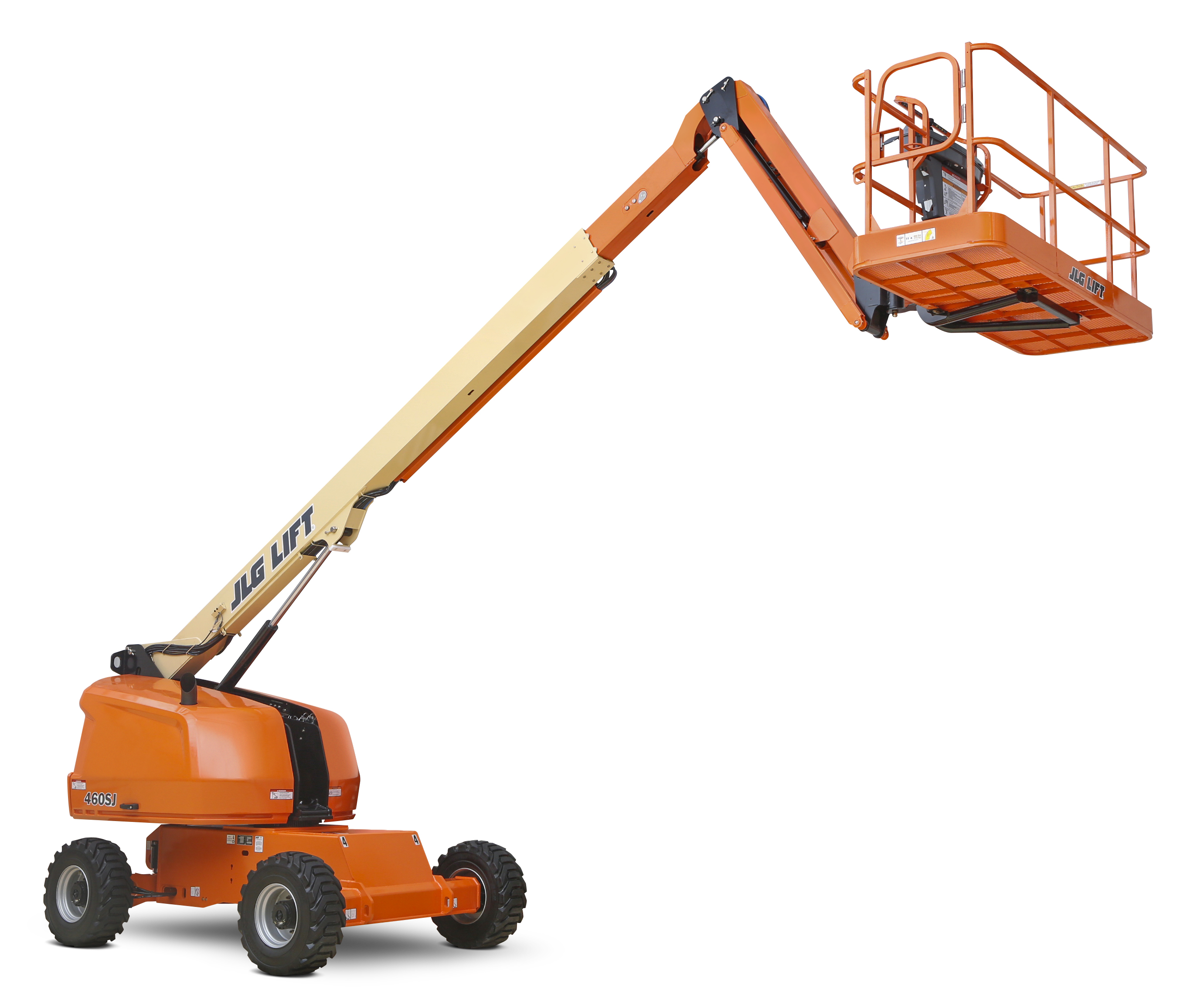 40' Telescopic Straight Boom Lift w/Jib