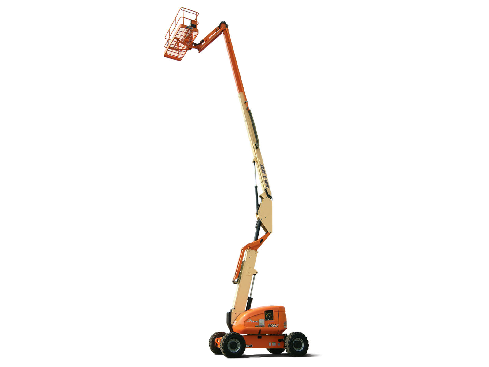 60' Articulating Boom Lift w/Jib