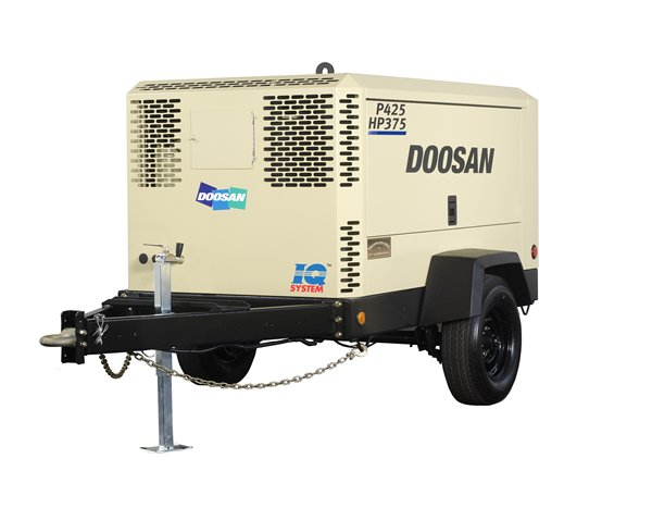Towable Air Compressor, 375-425 CFM