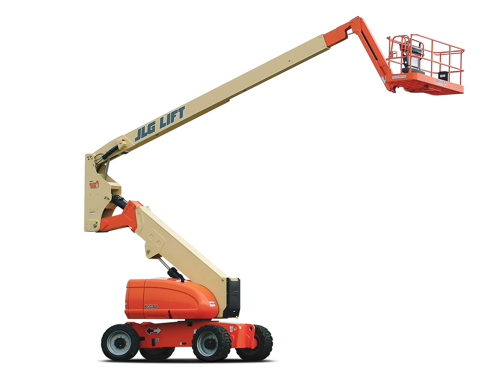 80' Articulating Boom Lift w/Jib